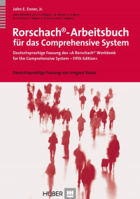Rorschach Arbeitsbuch zum Comprehensive System